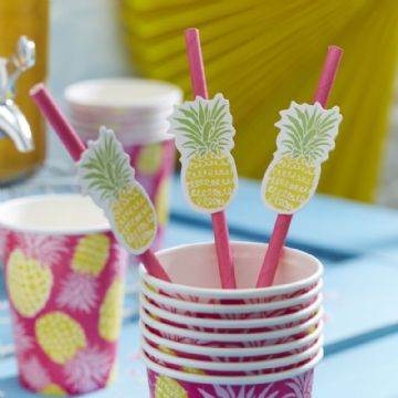 *SALE* Summer Fruits Party Straws